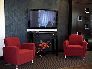 SkyVision Centers Inside Waiting Area