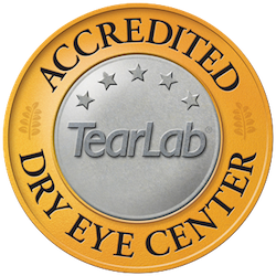Accredited Dry Eye Center by TearLab