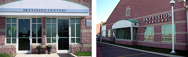 SkyVision Centers office exterior